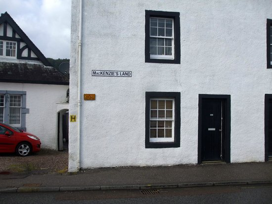 Loch Long Hotel: My name on a house