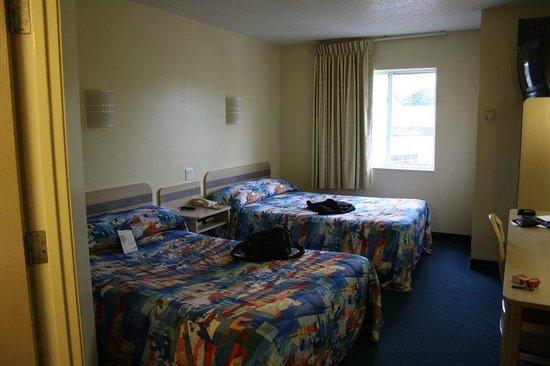Motel 6 Portsmouth: Zimmer