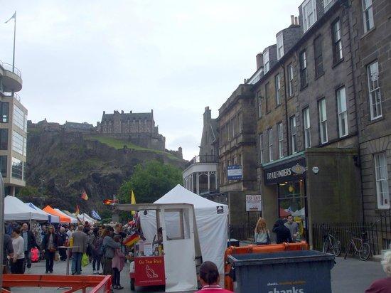 Loch Long Hotel: Edinburgh Castle