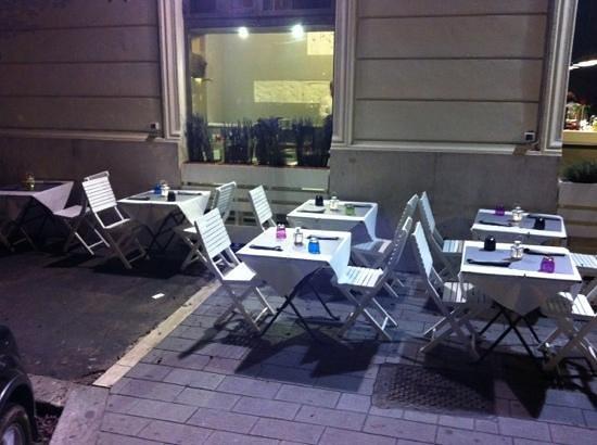 PRISCO ristorante in ROMA: esterno sera