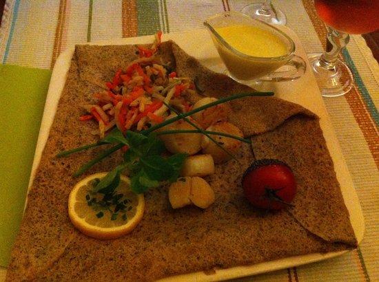 La Creperie des Delices: La saint Jacques