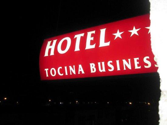 Hotel Tocina Business: vista desde la ventana