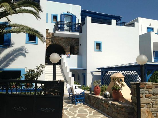 Hotel Villa Adriana: Hotel upon arrival