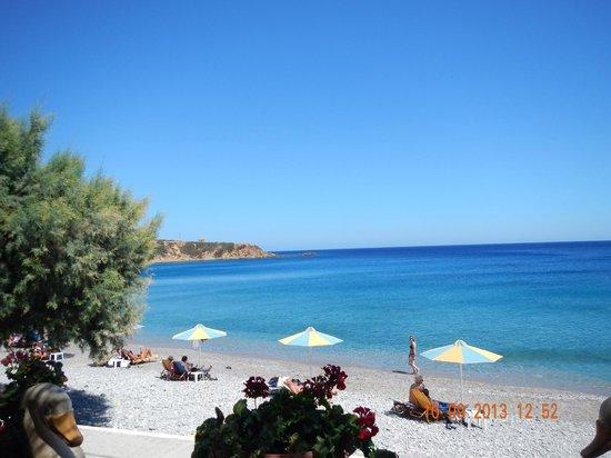 To Votsalo: Het strand van Agios Nicolaos!