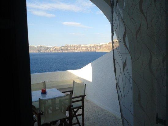 Kokkinos Villas: balcony view
