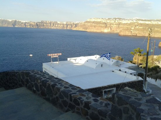 Kokkinos Villas: view from terrace