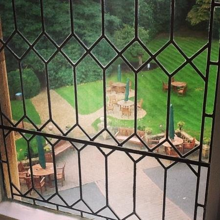 Macdonald Frimley Hall Hotel & Spa: View from our room