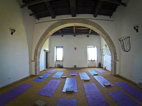 Sunflower Retreats Holidays: The stable's yoga room