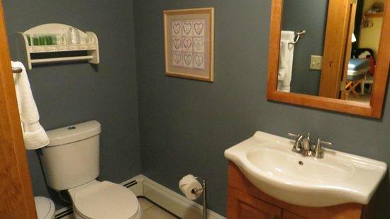 Franconia Notch Guest House: baño privado de la habitacion