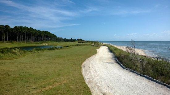 Bay Creek Golf Club : Beach