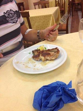 Beniamino Ubaldi: braciola di maiale