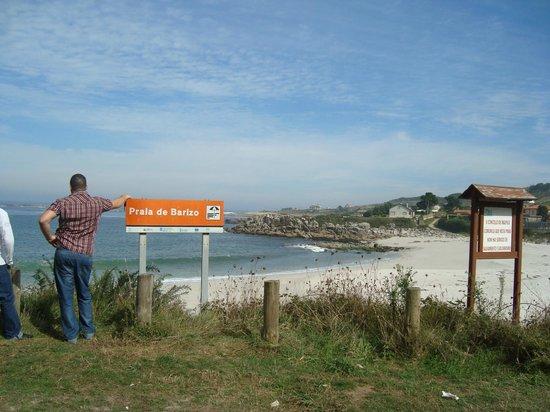 casa da sebe: Playa de Barizo