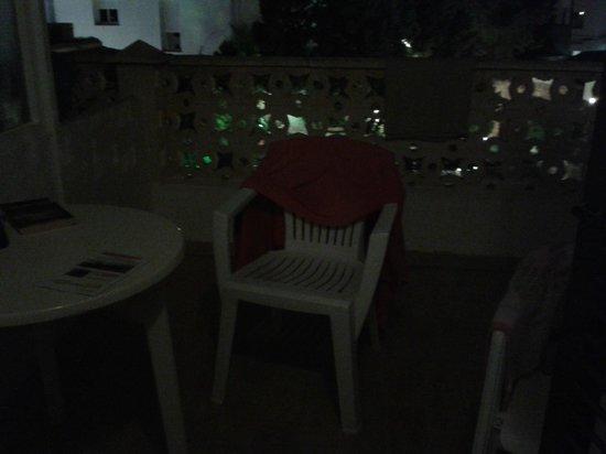 Fonda Pinatar : terrazza privata