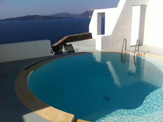 Ambassador Aegean Luxury Hotel & Suites: Sea view