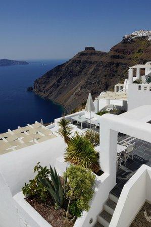 Agali Houses: Aussicht