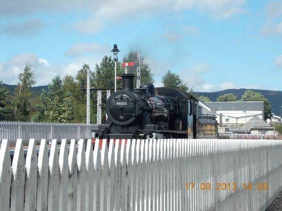 Aviemore Circular: Steam Train Station