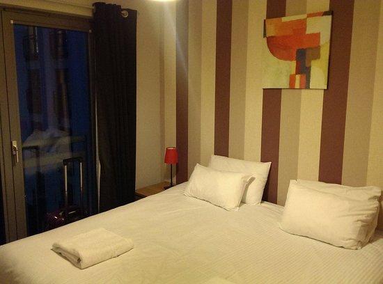 Hot-el-apartments Edinburgh Waterfront: Bedroom