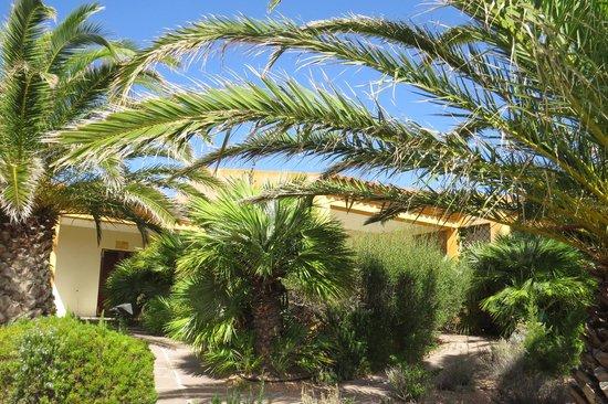 Hotel Relax Torreruja Thalasso & Spa : appartements sur jardin