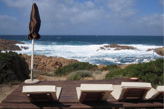Hotel Relax Torreruja Thalasso & Spa : plateforme calme et vue mer
