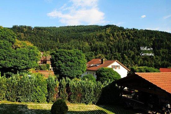 Schwarzwaldhotel Garni Wolfach : View from the hotel