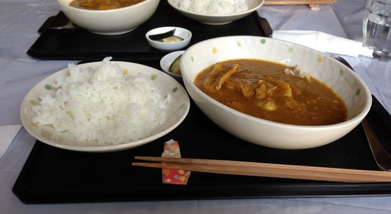 Mori Curry: Second dish, Curry!!