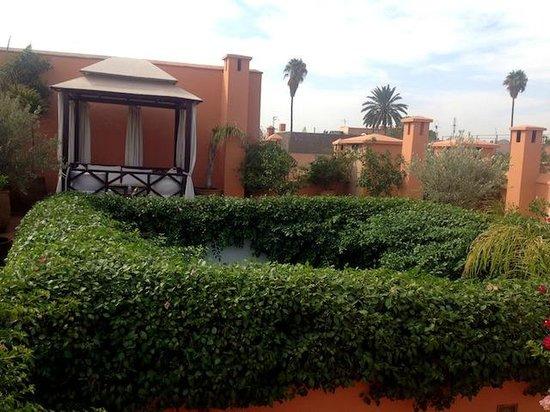 Riad Hayati: Roof terrace