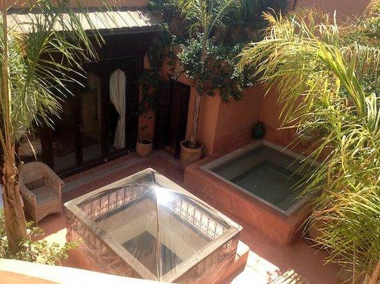 Riad Hayati: Private pool