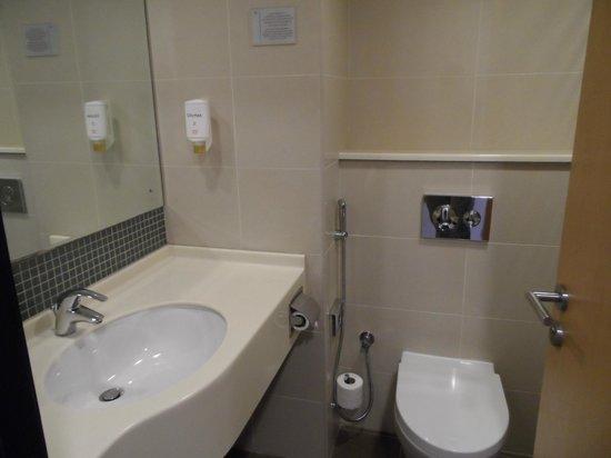 โรงแรมซิตี้แม็กซ์เบอดูไบ: Salle de bain