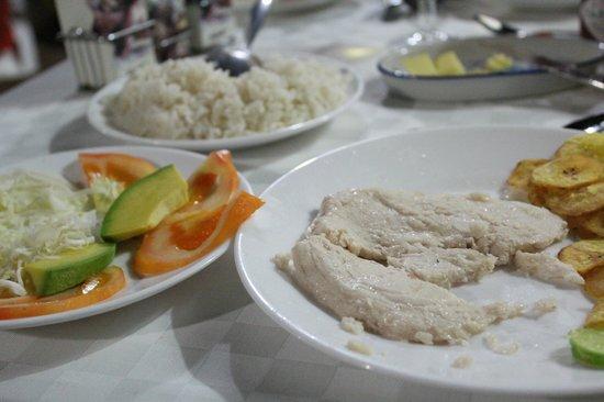Hostal Las Margaritas: Dinner