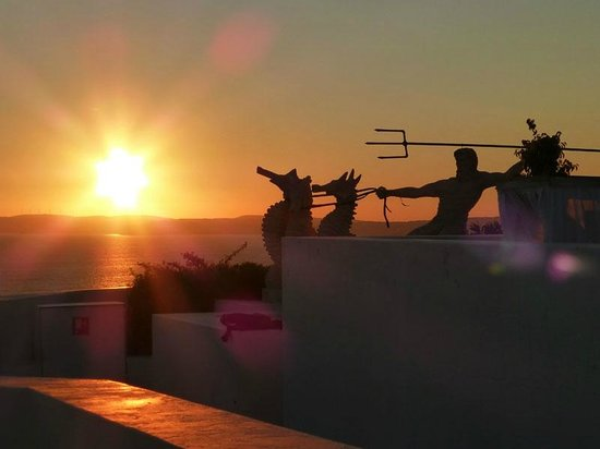Robinson Club Daidalos: Sunset terrace