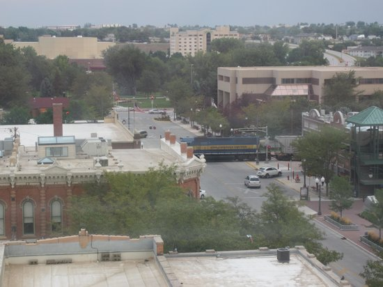 Hotel Alex Johnson Rapid City, Curio Collection by Hilton : Train going through town