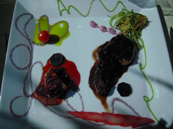 La Table d'Emilie : duo de viande (cannette et boeuf)