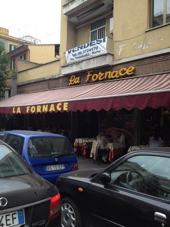 La Fornace: tavoli esterni