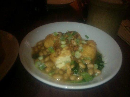 Busaba Eathai: Tofu and spinach (£7.90)