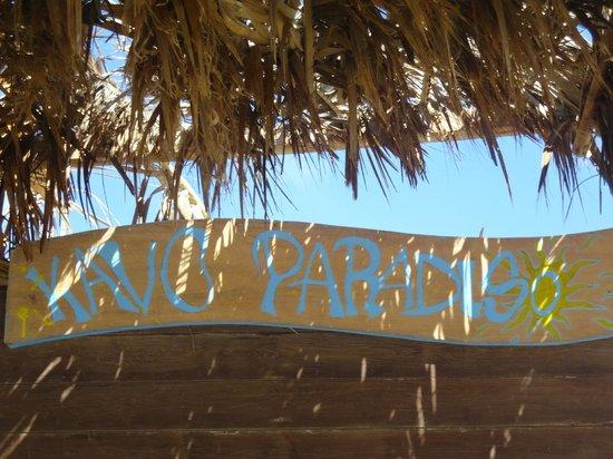 Cavo Paradiso: bar