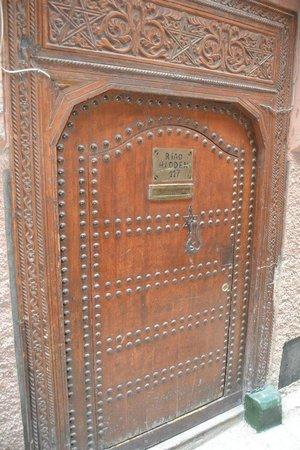 Riad Hidden : Puerta Riad
