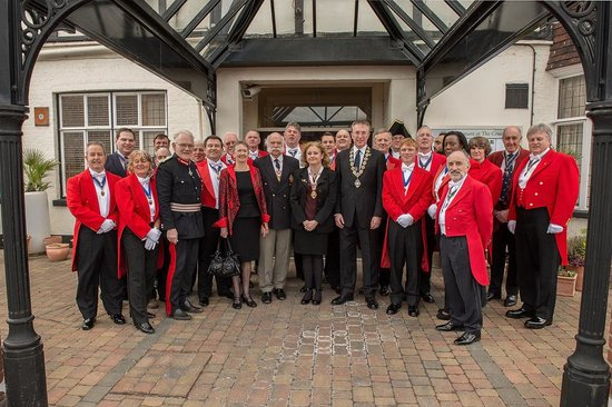 The County Hotel: Our last meeting in April 2013