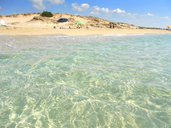 Maruggio, Italy: Mare di fine settembre, 27° e acqua caldissima!