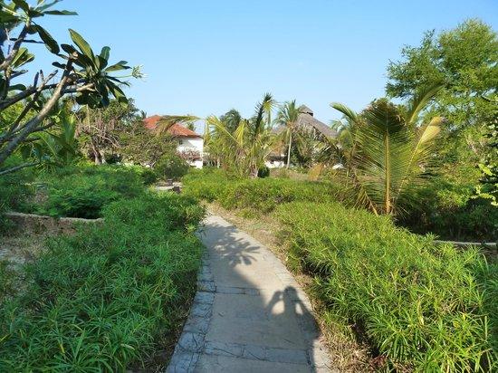Breezes Beach Club & Spa, Zanzibar: outside our room