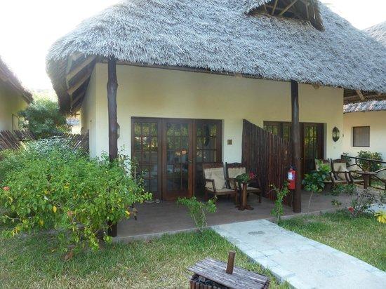 Breezes Beach Club & Spa, Zanzibar: our room from outside