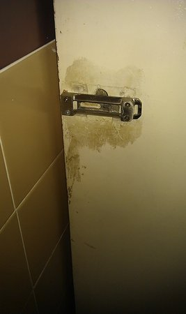 Duke of York: The back of the door to toilet number 1.