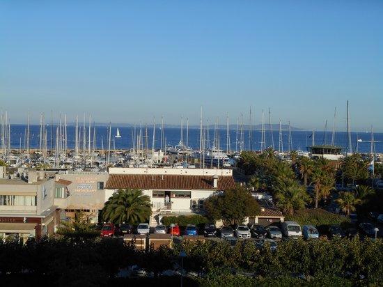 Maeva Résidence Hyères Parc : vue de notre terrasse
