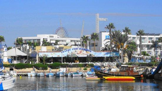 Faros Hotel: со стороны порта