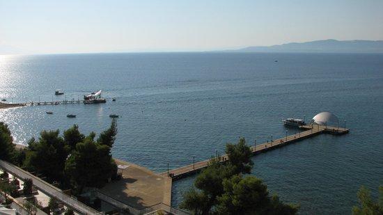 Club Med Gregolimano: Vue de notre chambre