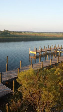 5 Rivers - Alabama's Delta Resource Center: Dock from the building