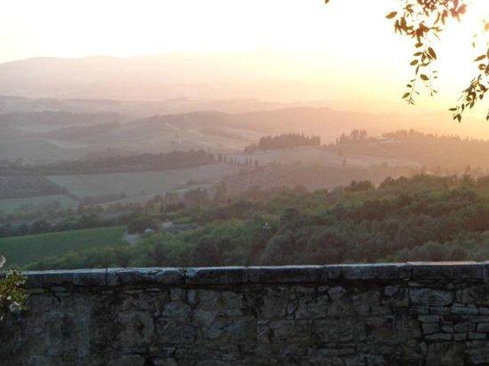 Castello La Leccia: Aussicht
