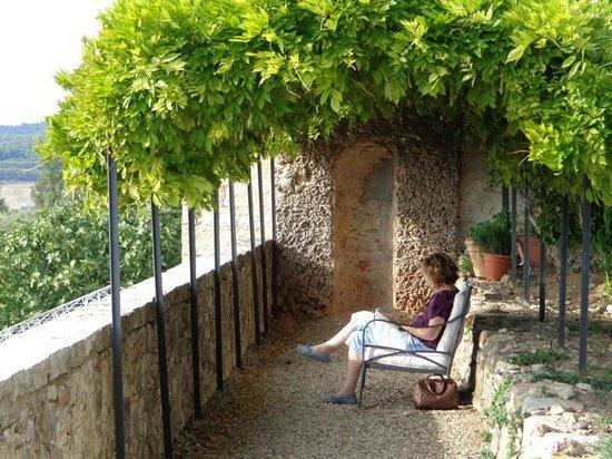 Castello La Leccia: ruhiges Plätzchen