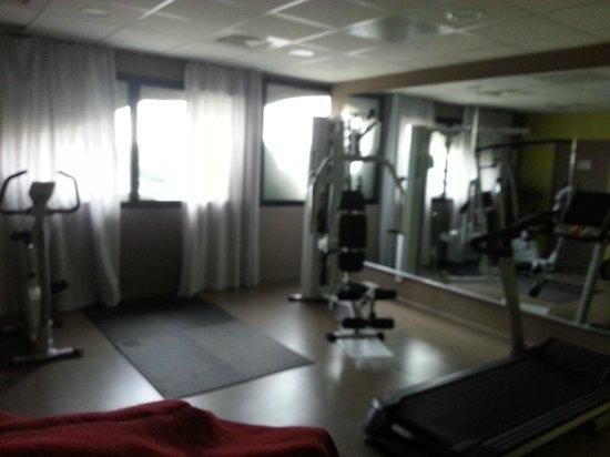 Appart'City Confort Montpellier Millénaire : Salle de fitness