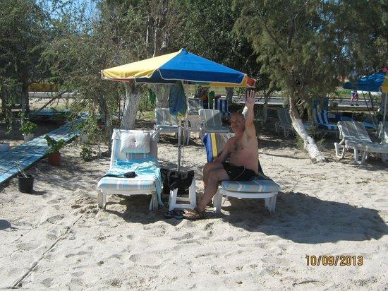 Tigaki Beach Hotel: on tingaki beach opposite