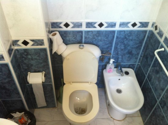 Hostal Mari: wc